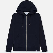 Мужская толстовка Norse Projects Vagn Zip Hood Dark Navy фото- 0