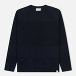Мужская толстовка Norse Projects Ville Light Wool Navy Melange фото- 0