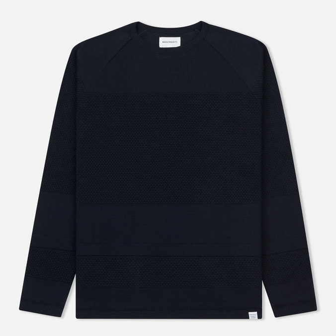 Мужская толстовка Norse Projects Ville Light Wool Navy Melange