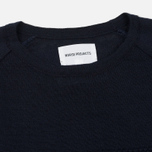 Мужская толстовка Norse Projects Ville Light Wool Navy Melange фото- 1