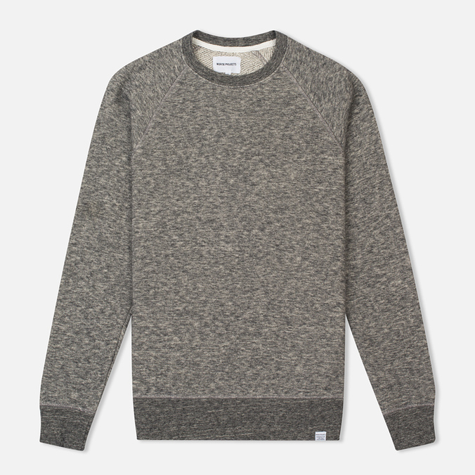 Мужская толстовка Norse Projects Vorm Cotton Wool Light Grey Melange