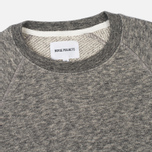 Мужская толстовка Norse Projects Vorm Cotton Wool Light Grey Melange фото- 1