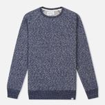Norse Projects Vorm Cotton Wool Men's Sweatshirt Navy photo- 0