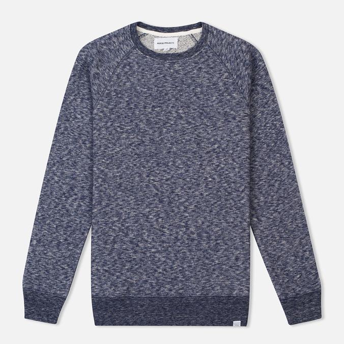 Мужская толстовка Norse Projects Vorm Cotton Wool Navy