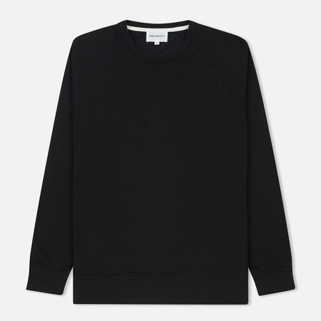 Мужская толстовка Norse Projects Vorm Mercerised Black