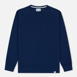 Мужская толстовка Norse Projects Vorm Mercerised Compound Blue фото- 0