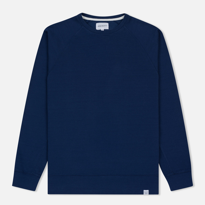 Мужская толстовка Norse Projects Vorm Mercerised Compound Blue