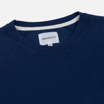 Мужская толстовка Norse Projects Vorm Mercerised Compound Blue фото- 1