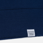 Мужская толстовка Norse Projects Vorm Mercerised Compound Blue фото- 3
