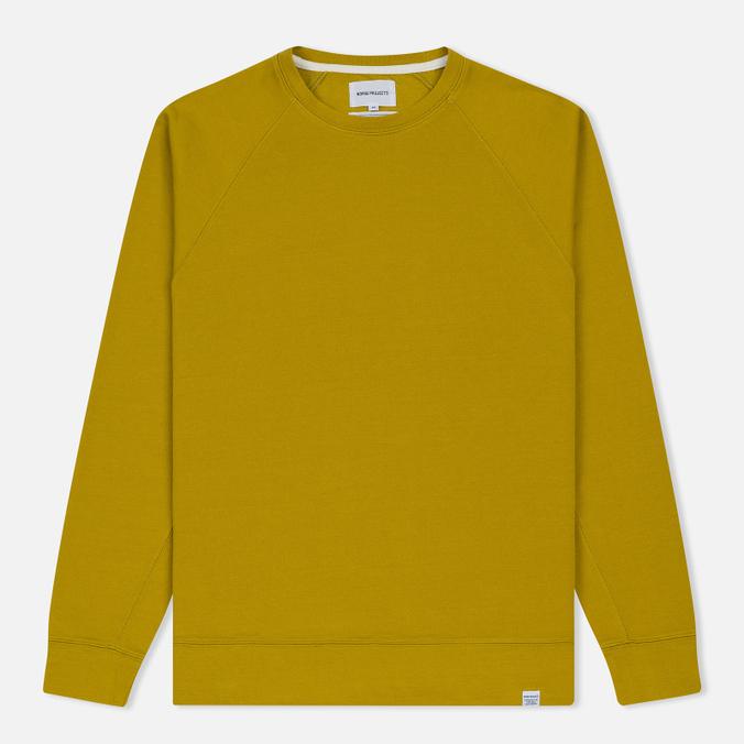 Мужская толстовка Norse Projects Vorm Mercerised Edge Yellow