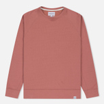 Мужская толстовка Norse Projects Vorm Mercerised Fusion Pink фото- 0