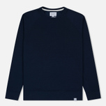 Мужская толстовка Norse Projects Vorm Mercerised Navy фото- 0