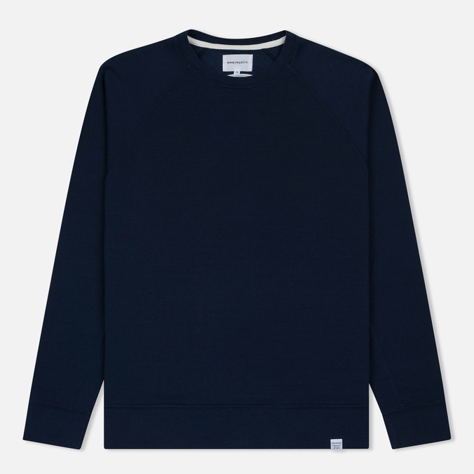 Мужская толстовка Norse Projects Vorm Mercerised Navy