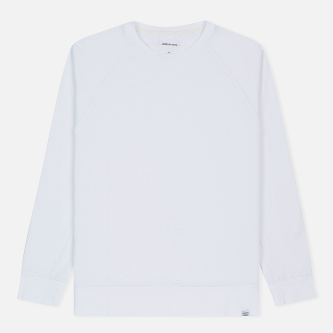 Мужская толстовка Norse Projects Vorm Mercerised White
