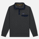Мужская толстовка Patagonia Cotton Quilt Snap-T Forge Grey фото- 0