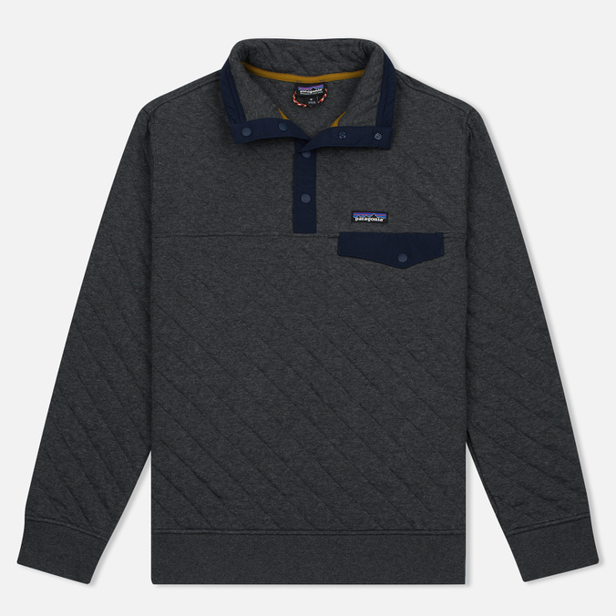 Мужская толстовка Patagonia Cotton Quilt Snap-T Forge Grey