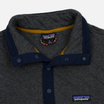 Мужская толстовка Patagonia Cotton Quilt Snap-T Forge Grey фото- 1