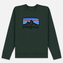 Мужская толстовка Patagonia Fitz Roy Horizons Uprisal Crew Alder Green фото- 0