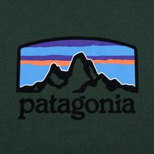 Мужская толстовка Patagonia Fitz Roy Horizons Uprisal Crew Alder Green фото- 2