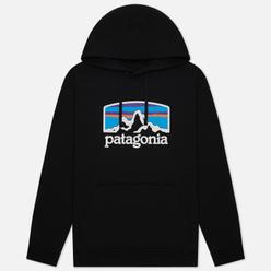 Мужская толстовка Patagonia Fitz Roy Horizons Uprisal Hoodie Black