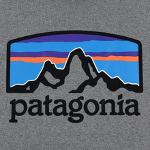Мужская толстовка Patagonia Fitz Roy Horizons Uprisal Hoodie Gravel Heather фото- 2