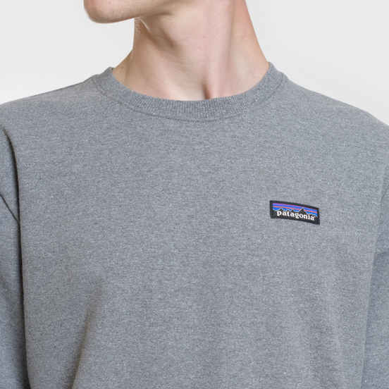 Мужская толстовка Patagonia P-6 Label Uprisal Crew Gravel Heather