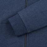 Мужская толстовка Patagonia P-6 Logo Midweight Full-Zip Navy Blue фото- 4