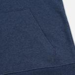 Мужская толстовка Patagonia P-6 Logo Midweight Full-Zip Navy Blue фото- 3