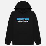 Мужская толстовка Patagonia P-6 Logo Uprisal Hoodie Black фото- 0