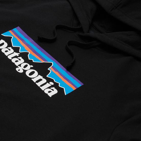 Мужская толстовка Patagonia P-6 Logo Uprisal Hoodie Black