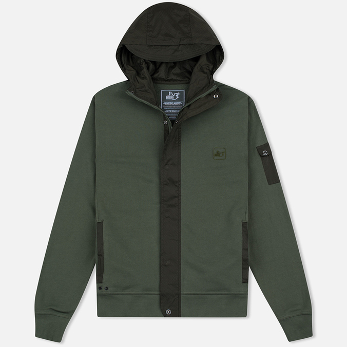 Мужская толстовка Peaceful Hooligan Controller Zip Khaki