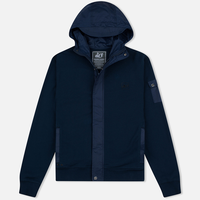 Мужская толстовка Peaceful Hooligan Controller Zip Navy