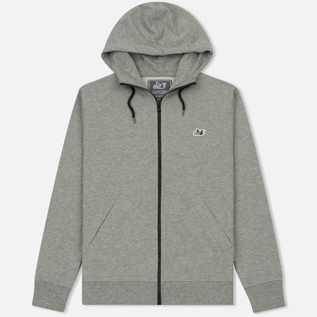 Мужская толстовка Peaceful Hooligan Core Hoodie Marl Grey