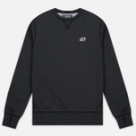 Мужская толстовка Peaceful Hooligan Eaton Crew Neck Marl Black фото- 0