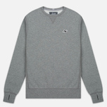Мужская толстовка Peaceful Hooligan Eaton Crew Neck Marl Grey фото- 0