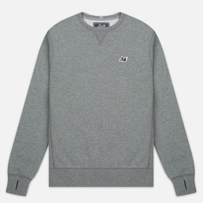 Мужская толстовка Peaceful Hooligan Eaton Crew Neck Marl Grey