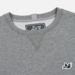Мужская толстовка Peaceful Hooligan Eaton Crew Neck Marl Grey фото- 1