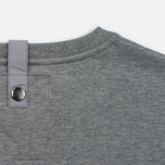 Мужская толстовка Peaceful Hooligan Eaton Crew Neck Marl Grey фото- 3