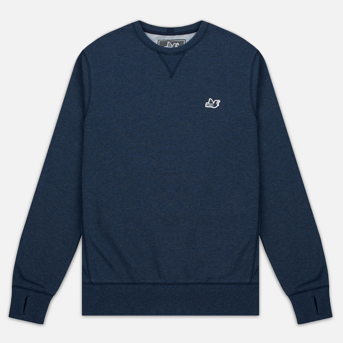 Мужская толстовка Peaceful Hooligan Eaton Crew Neck Marl Navy