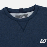 Мужская толстовка Peaceful Hooligan Eaton Crew Neck Marl Navy фото- 1