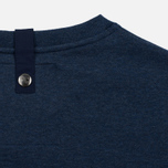 Мужская толстовка Peaceful Hooligan Eaton Crew Neck Marl Navy фото- 3