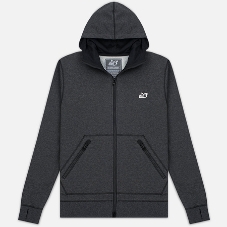Мужская толстовка Peaceful Hooligan Lewis Hoody Marl Black