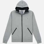 Мужская толстовка Peaceful Hooligan Lewis Hoody Marl Grey фото- 0