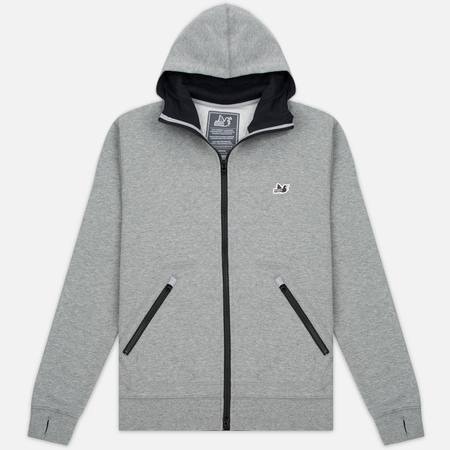 Мужская толстовка Peaceful Hooligan Lewis Hoody Marl Grey