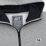 Мужская толстовка Peaceful Hooligan Lewis Hoody Marl Grey фото- 1