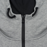 Мужская толстовка Peaceful Hooligan Lewis Hoody Marl Grey фото- 3