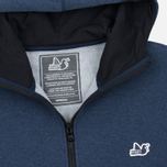 Мужская толстовка Peaceful Hooligan Lewis Hoody Marl Navy фото- 1