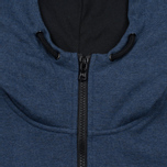 Мужская толстовка Peaceful Hooligan Lewis Hoody Marl Navy фото- 3