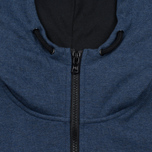 Peaceful Hooligan Lewis Hoody Marl Men's Sweatshirt Navy photo- 3