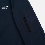 Мужская толстовка Peaceful Hooligan Light Zipped Nylon Ripstop Pocket Navy фото- 4